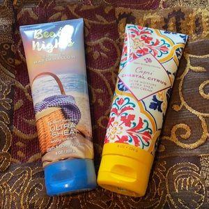 Bath and Body Works Body Cream Bundle